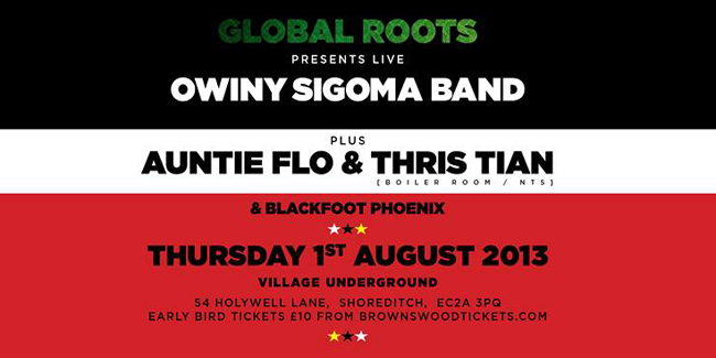 PREVIEW: Global Roots presents Owiny Sigoma Band