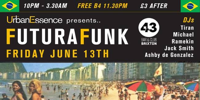 Urban Essence Presents…FUTURA FUNK