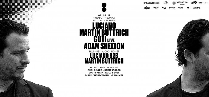 Preview: Luciano & Friends @ Printworks London