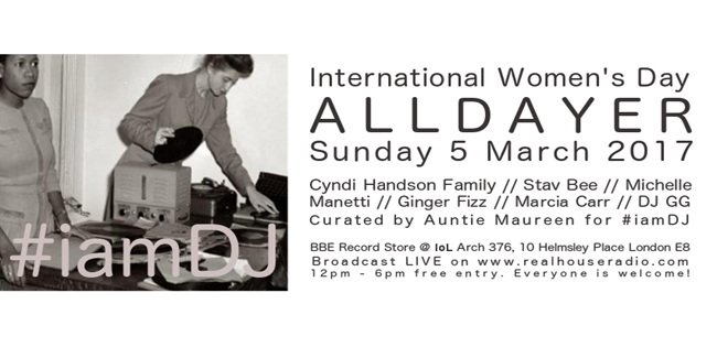 #iamDJ celebrates International Women's Day with bumper All Dayer